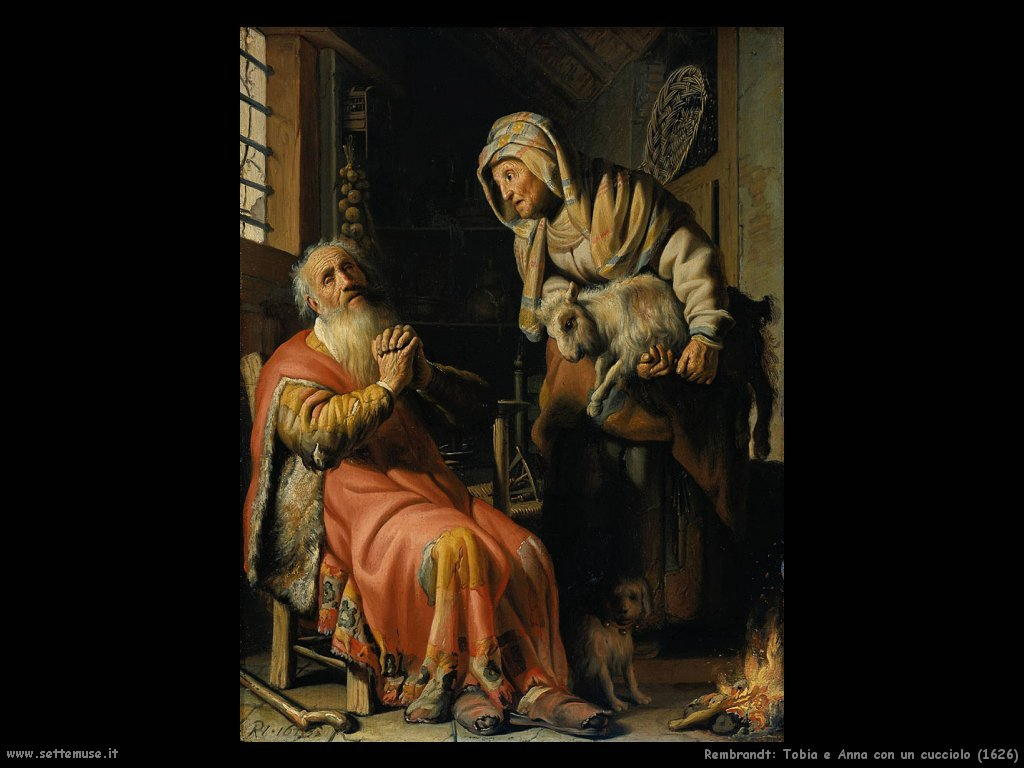 Rembrandt _tobia_e_anna_con_un_cucciolo_1626
