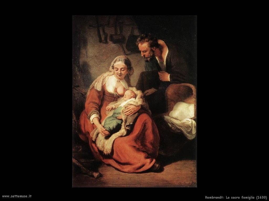 Rembrandt _sacra_famiglia_1630