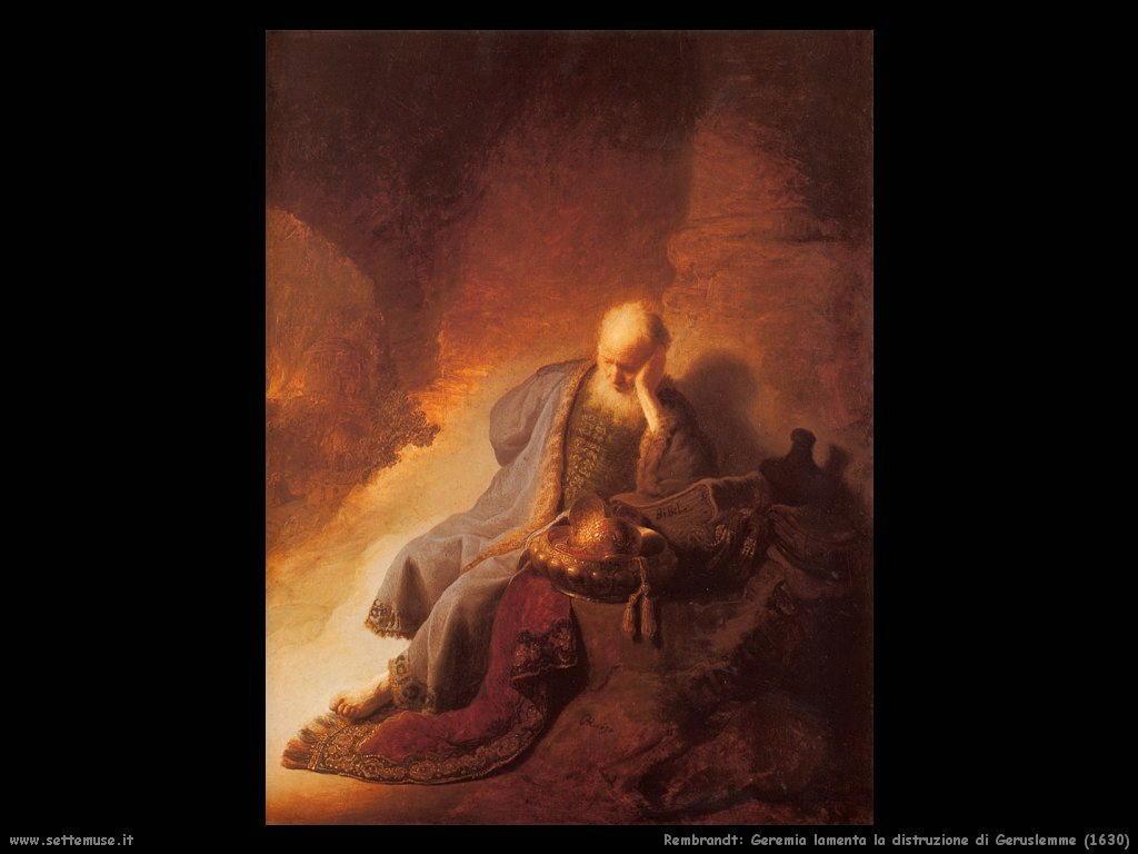 Rembrandt _geremia_lamenta_distruzione_gerusalemme_1630