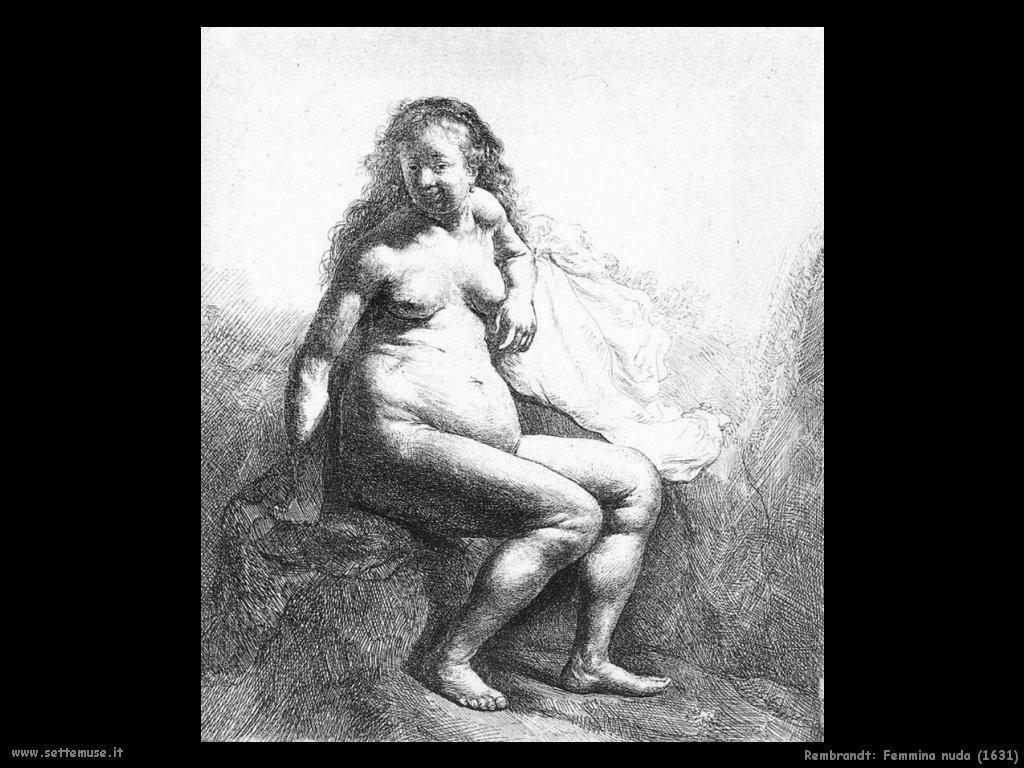 Rembrandt_femmina_nuda_seduta_1631
