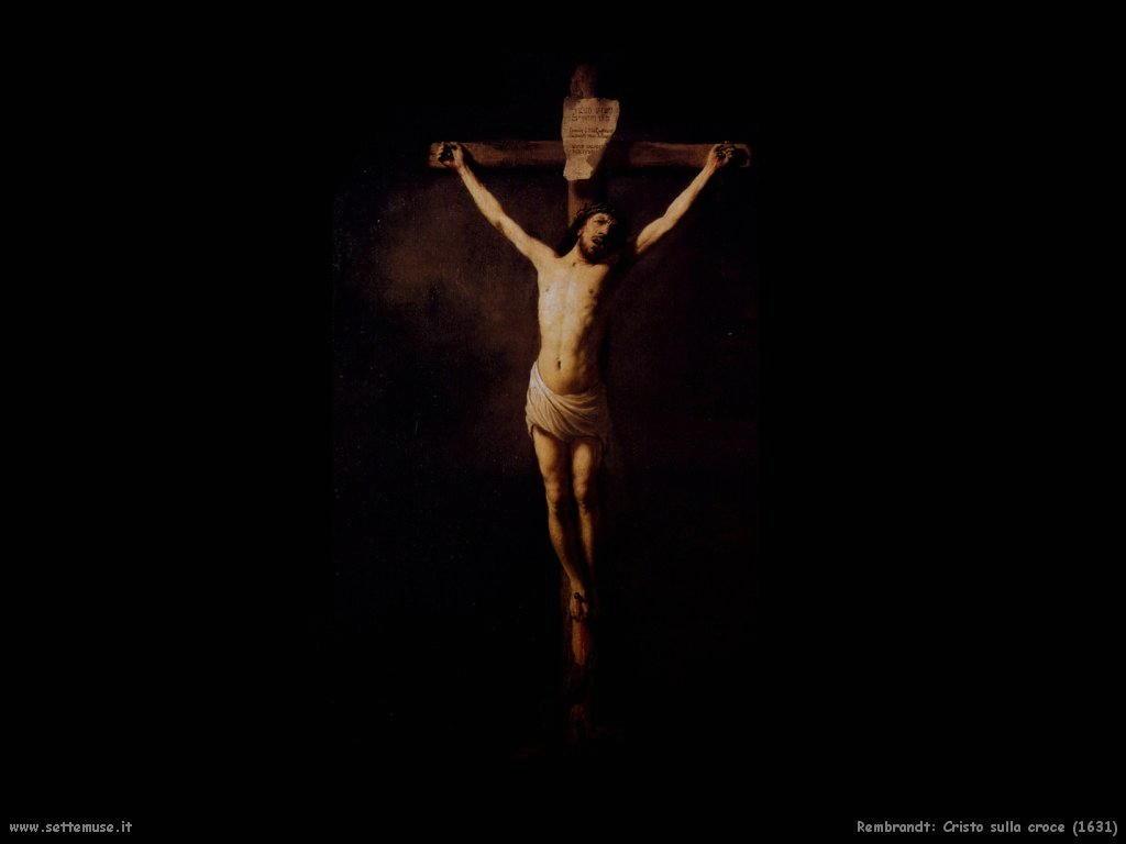Rembrandt _cristo_sulla_croce_1631