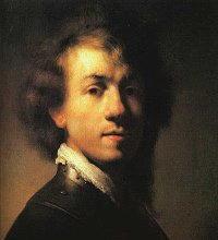 Autoritratto di Rembrant