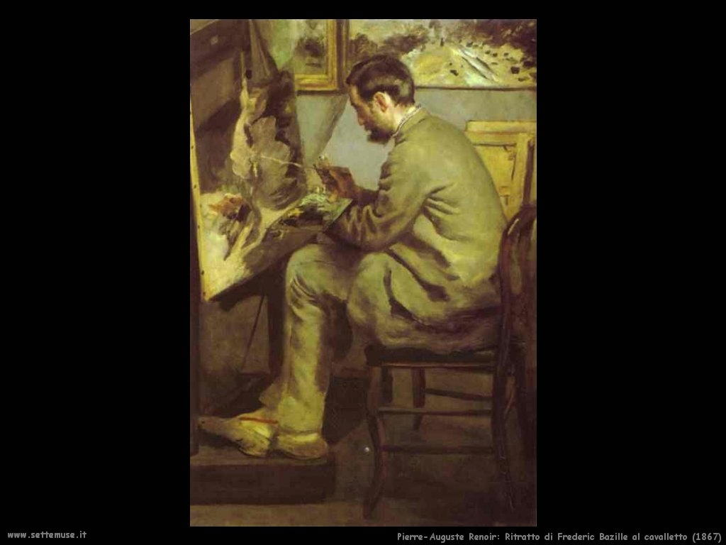 Pierre-Auguste Renoir_frederic_bazille_al_cavallettog
