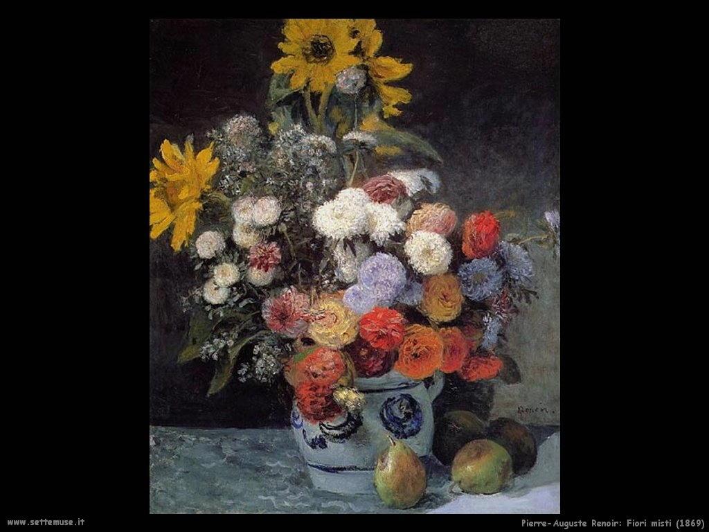 1869_fiori_misti Pierre-Auguste Renoir
