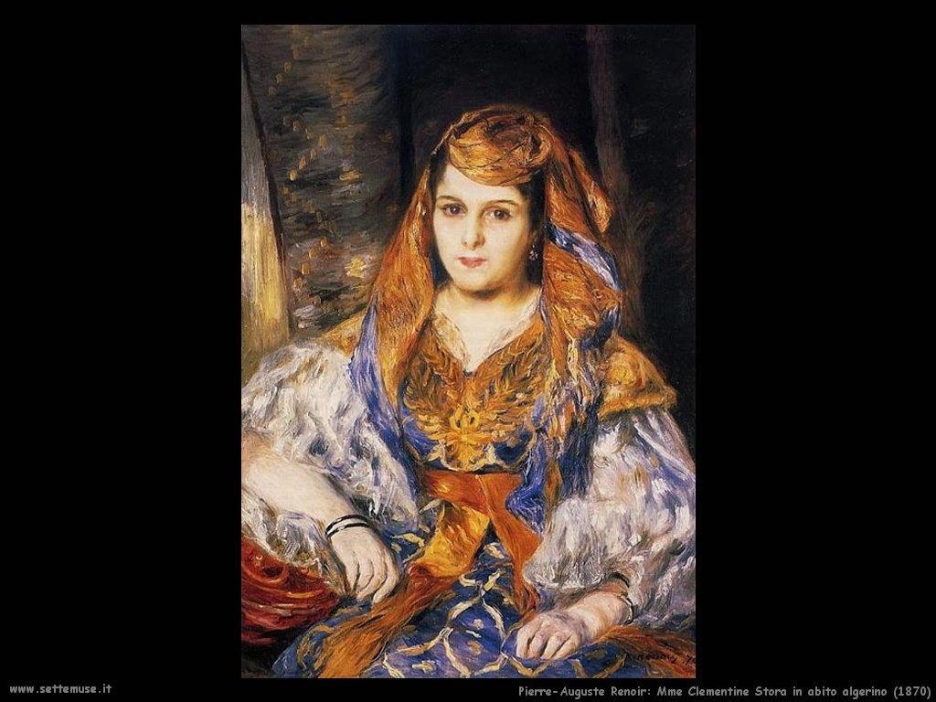 Pierre Auguste Renoir_madame_clementine_stora_in_abito_algerino