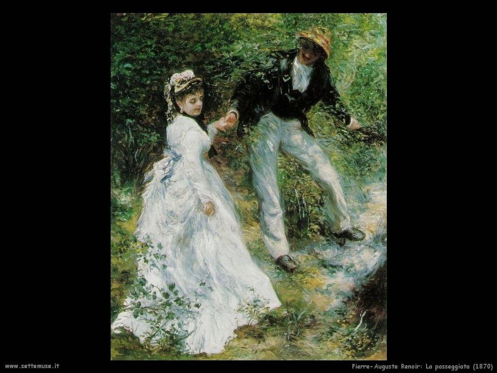 Pierre-Auguste Renoir _la_passeggiata