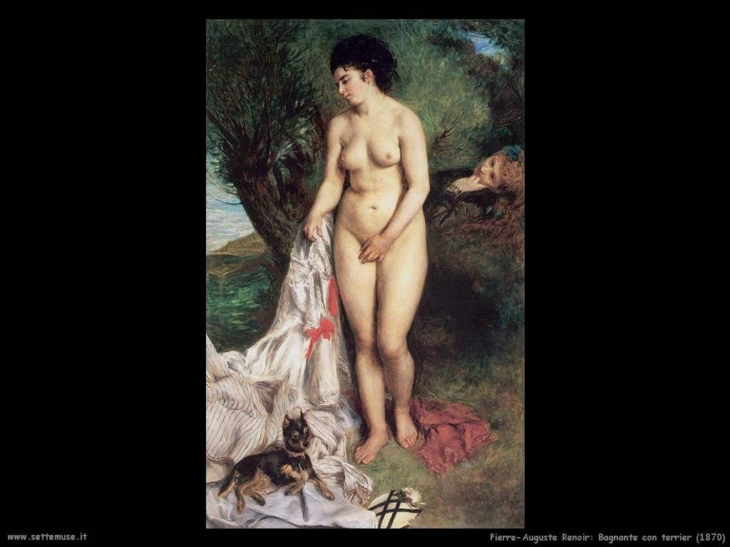 bagnante_con_terrier Pierre-Auguste Renoir