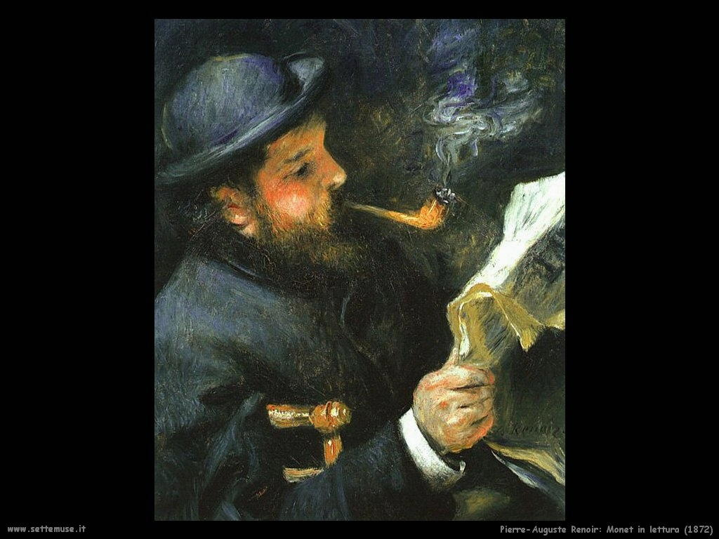 Pierre-Auguste Renoir_monet_in_lettura