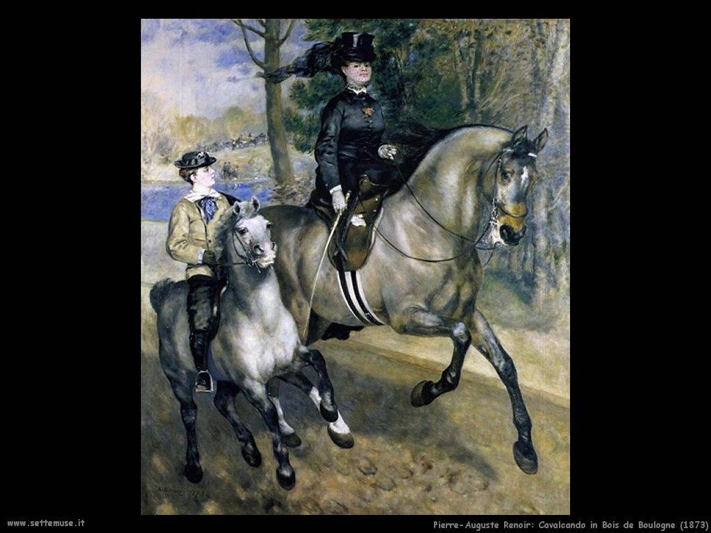 Pierre-Auguste Renoir _cavalcando_in_bois_de_boulogne