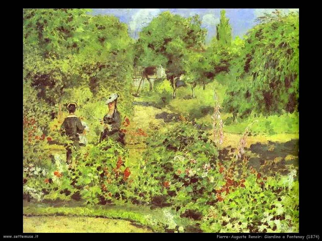 1874_giardino_a_fontenay Pierre-Auguste Renoir