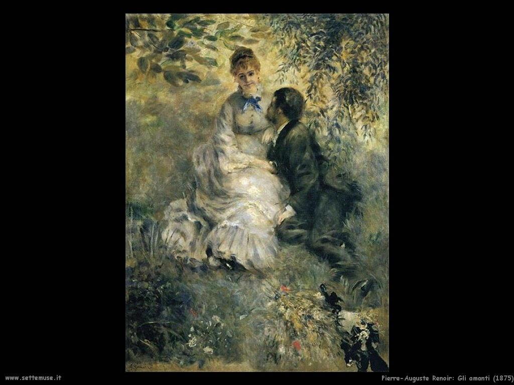 Pierre-Auguste Renoir _gli_amanti