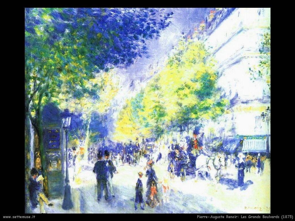 1875_les_grands_boulevards Pierre-Auguste Renoir