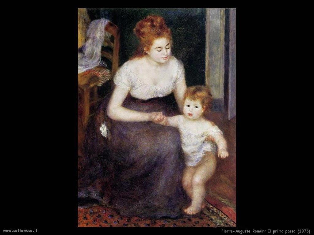 Pierre-Auguste Renoir _il_primo_passo