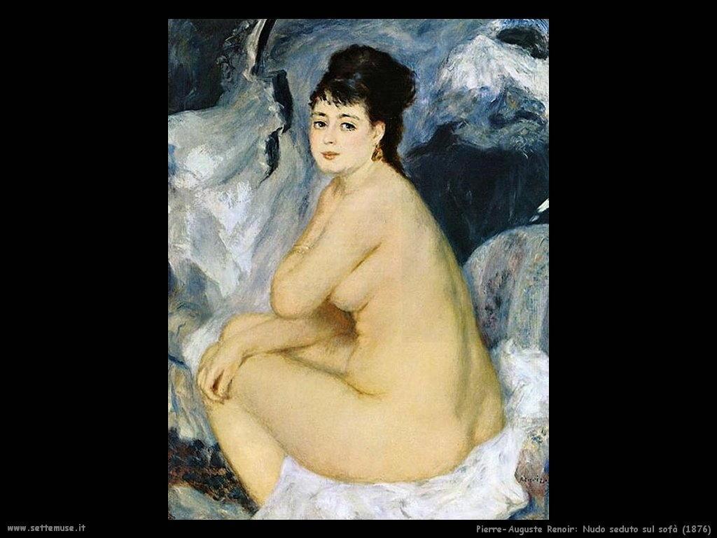 nudo_seduto_sul_sofà Pierre-Auguste Renoir