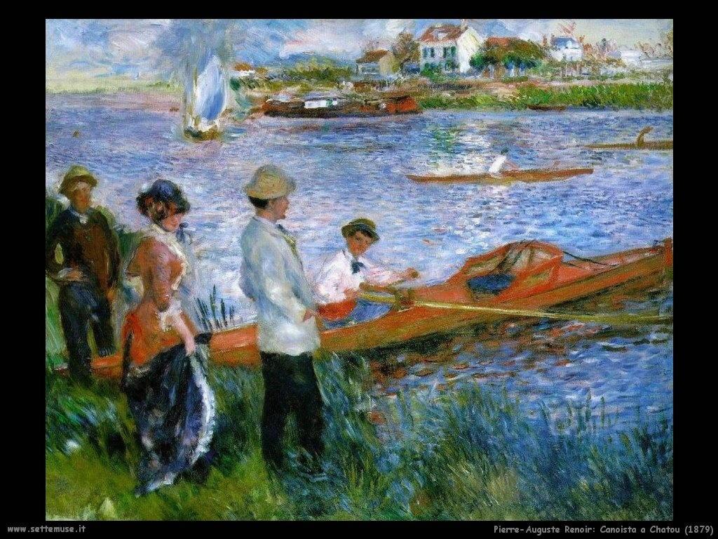Pierre-Auguste Renoir _canoista_a_chatou