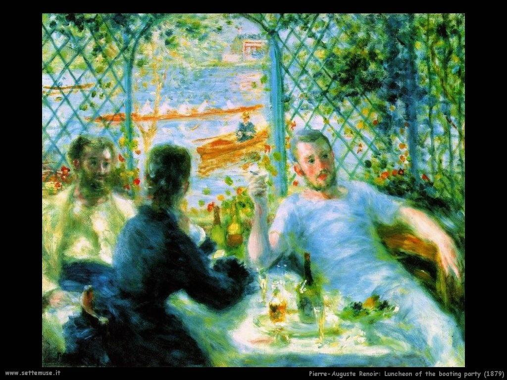 Pierre-Auguste Renoir La colazione dei canottieri