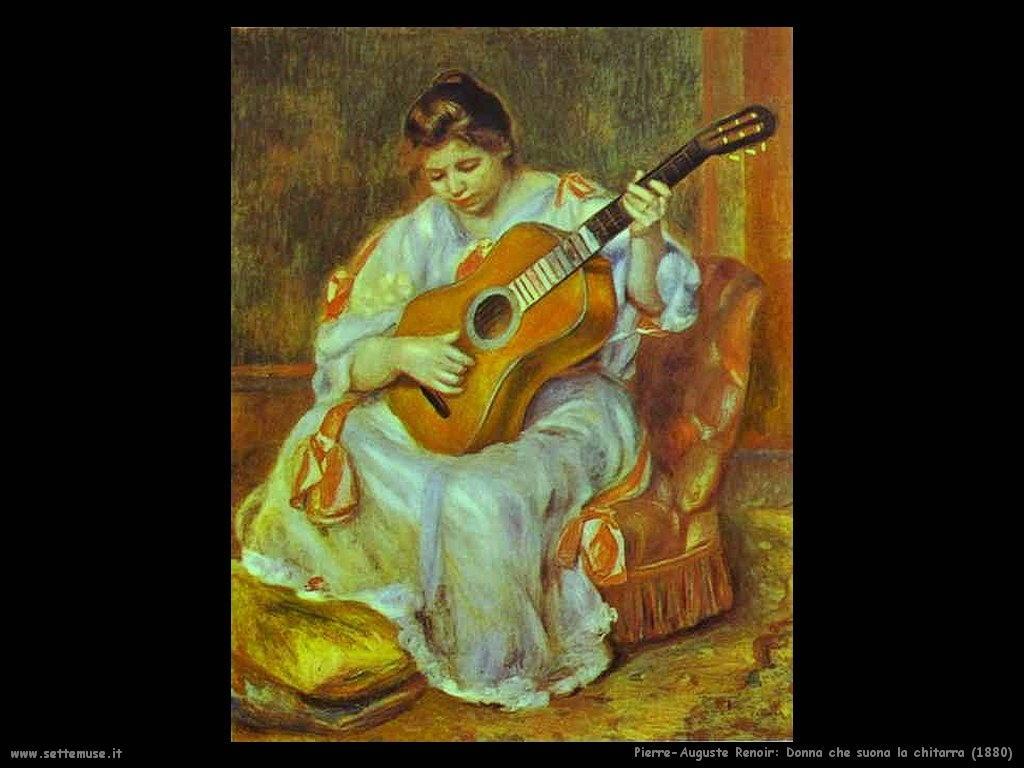 Pierre-Auguste Renoir_donna_che_suona_la_chitarra