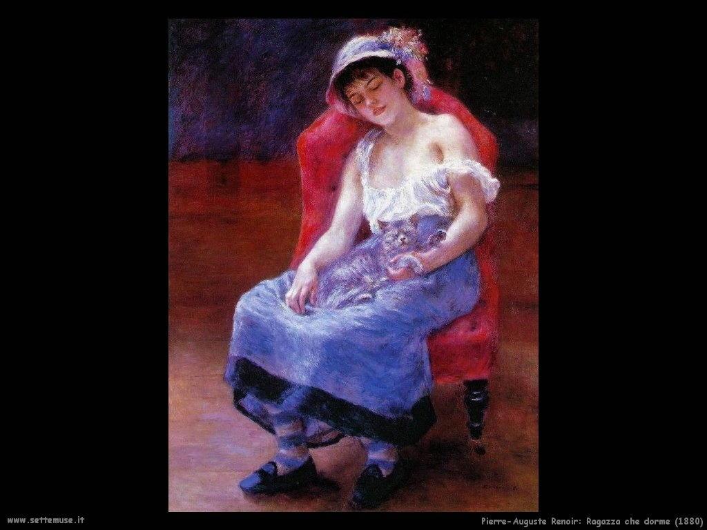 Pierre-Auguste Renoir_ragazza_che_dorme