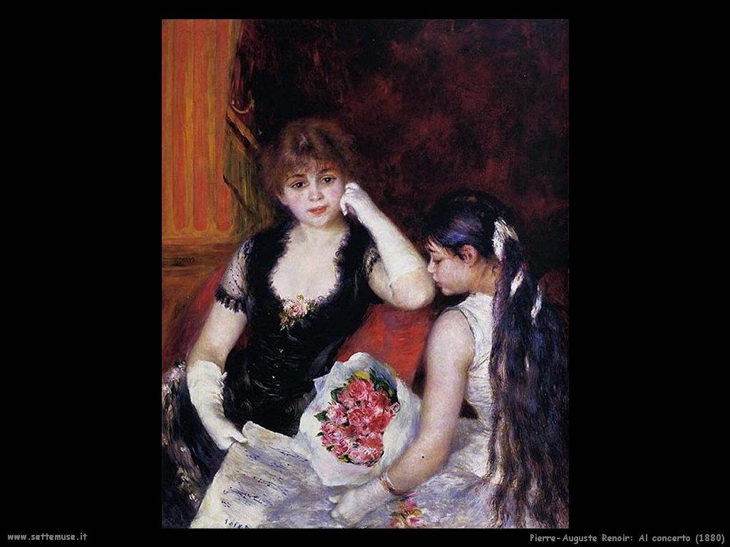 Pierre-Auguste Renoir  al_concerto
