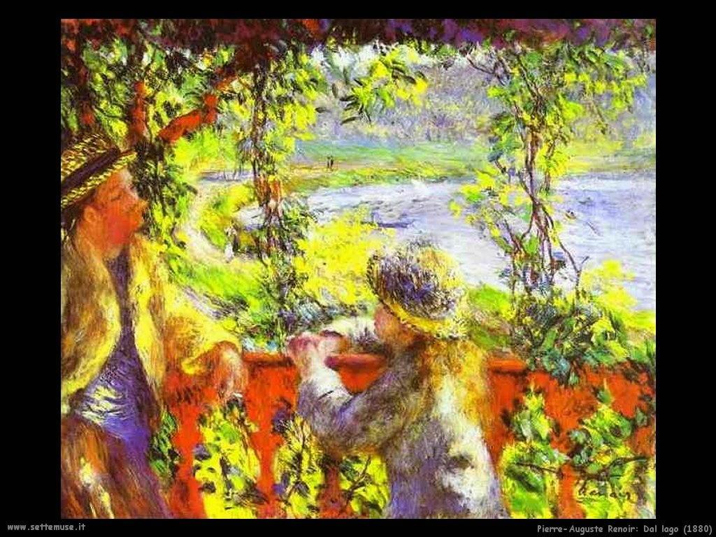 Pierre-Auguste Renoir _dal_lago