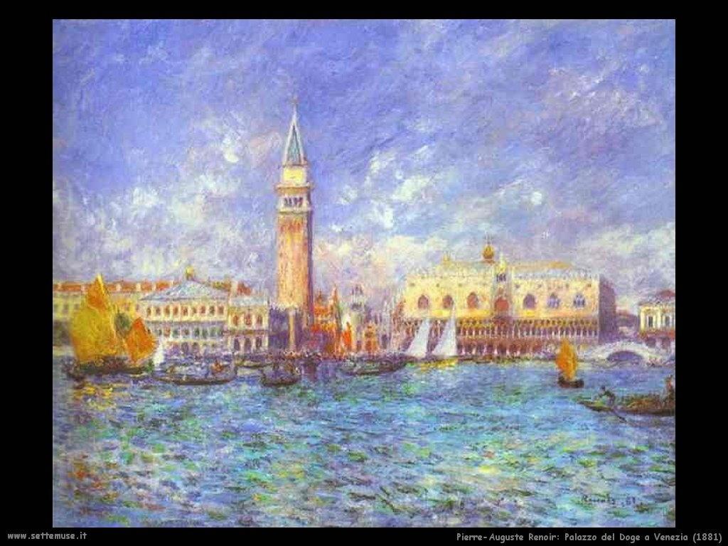 1881_palazzo_del_doge_a_venezia Pierre-Auguste Renoir