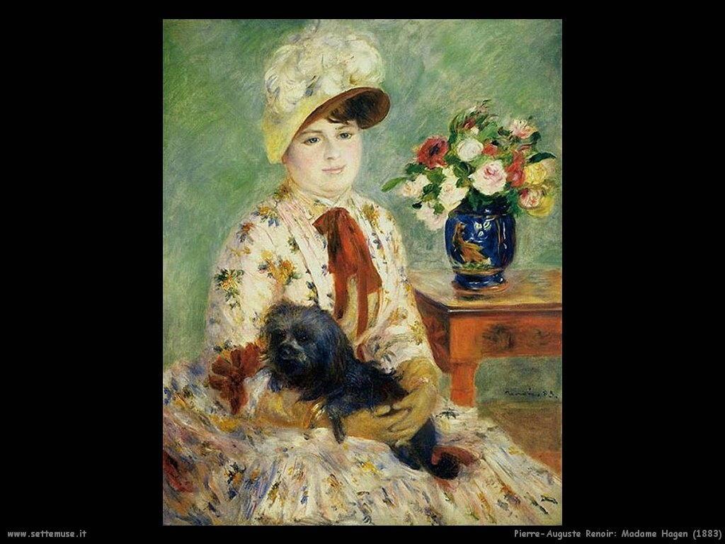 Pierre-Auguste Renoir madame_hagen