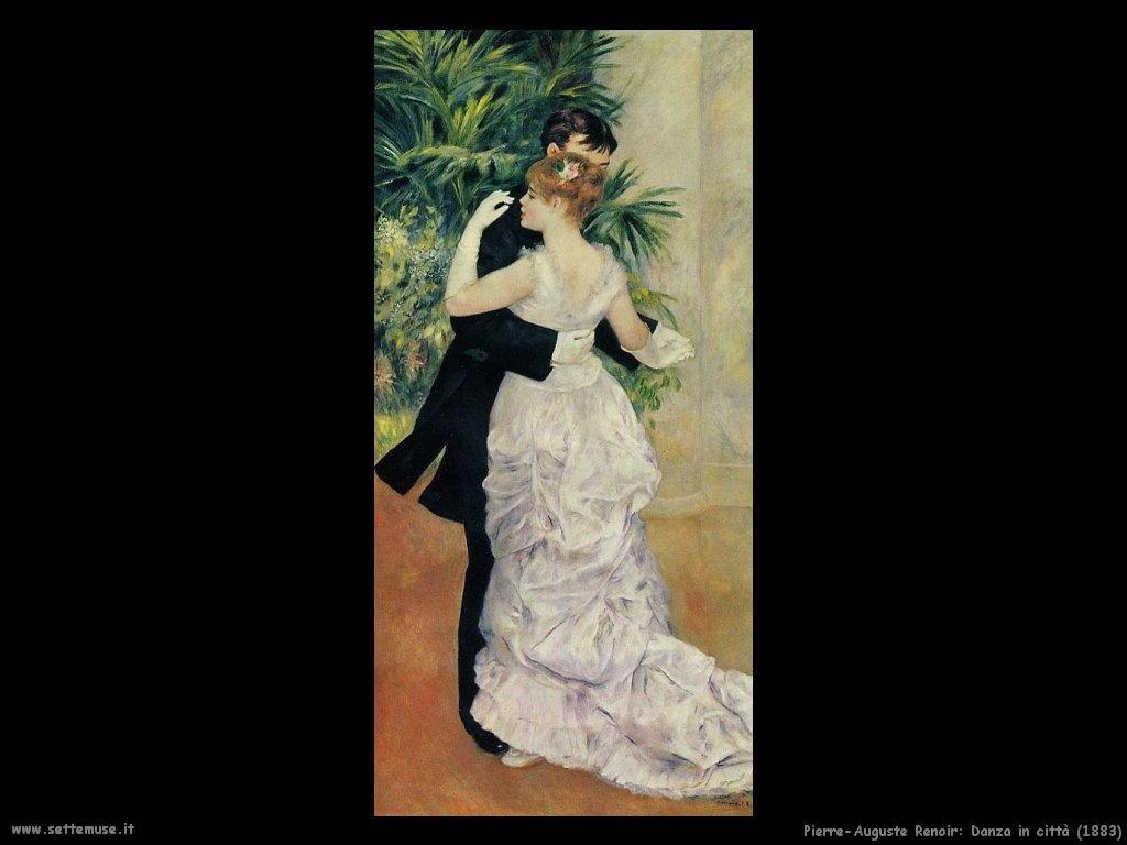 Pierre-Auguste Renoir _danza_in_città