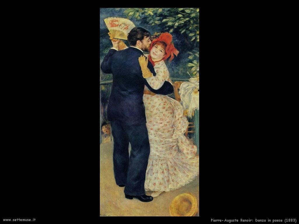 Pierre-Auguste Renoir  danza_in_paese