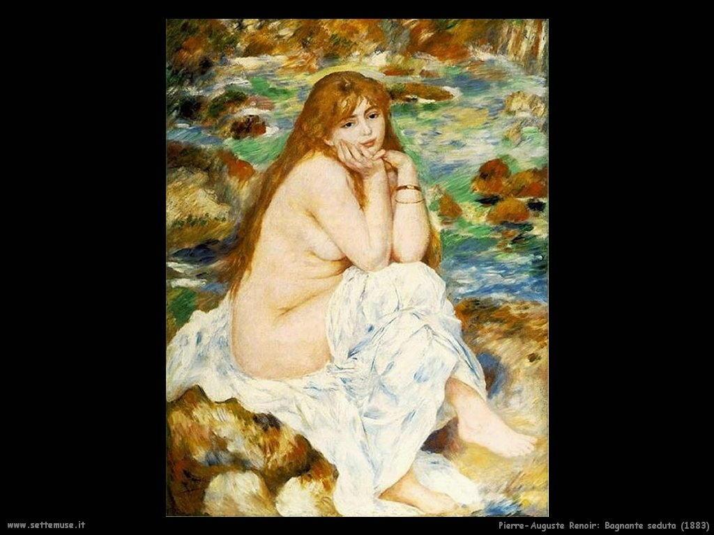 bagnante_seduta Pierre-Auguste Renoir