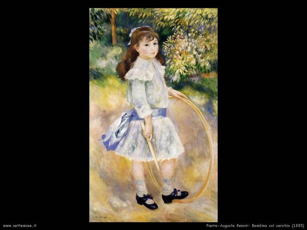Pierre-Auguste Renoir_bambina_col_cerchio