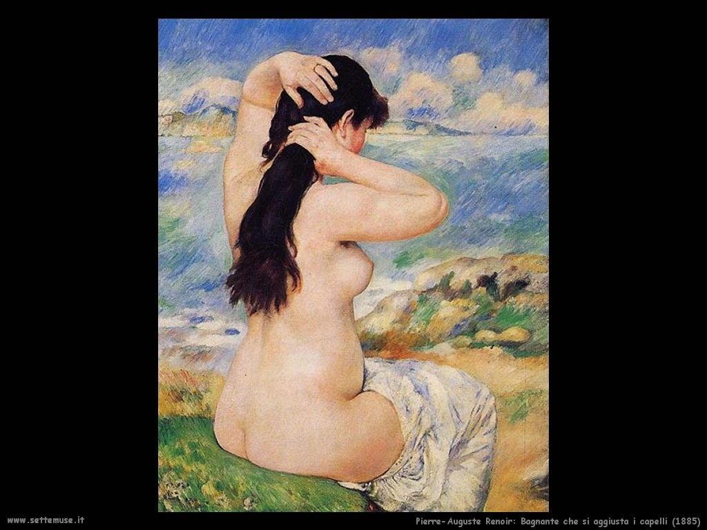 bagnante_si_aggiusta_i_capelli Pierre-Auguste Renoir