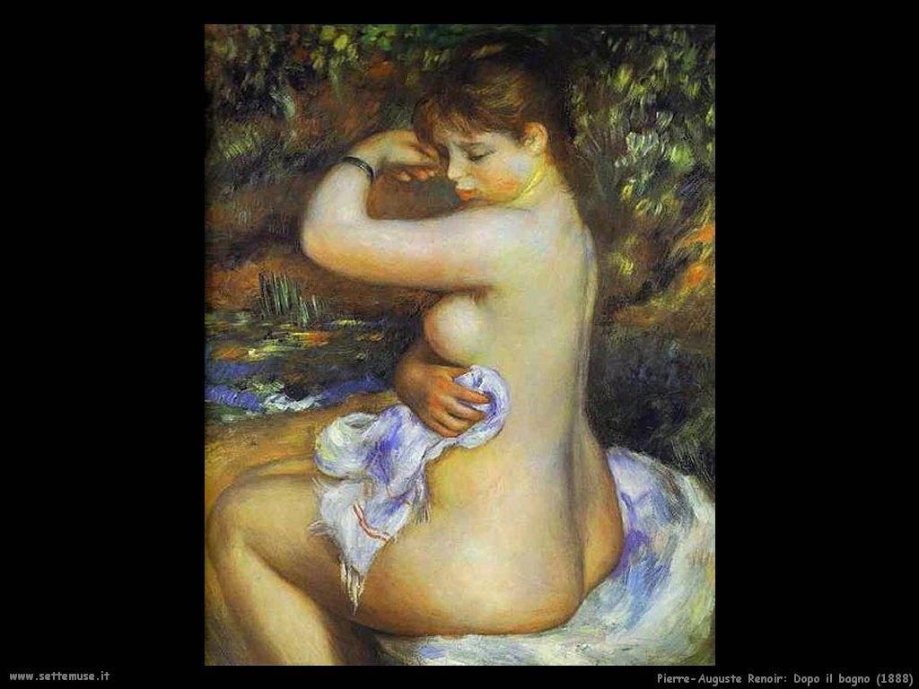 1888_dopo_il_bagno Pierre-Auguste Renoir