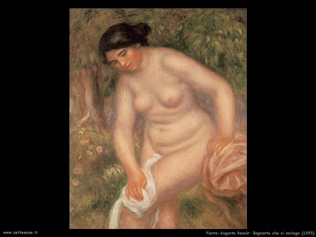 1895_bagnante_che_si_asciuga Pierre-Auguste Renoir