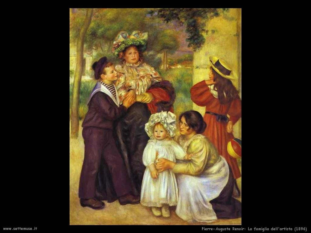 Pierre-Auguste Renoir_la_famiglia_dell_artista