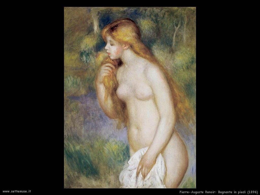 1896_bagnante_in_piedi Pierre-Auguste Renoir