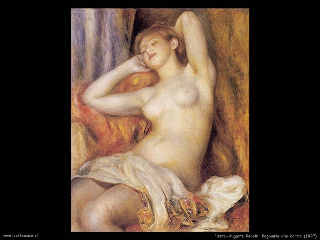 1897_bagnante_che_dorme Pierre-Auguste Renoir