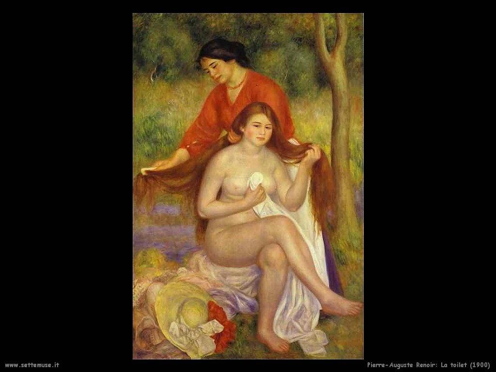 1900_la_toilet Pierre-Auguste Renoir