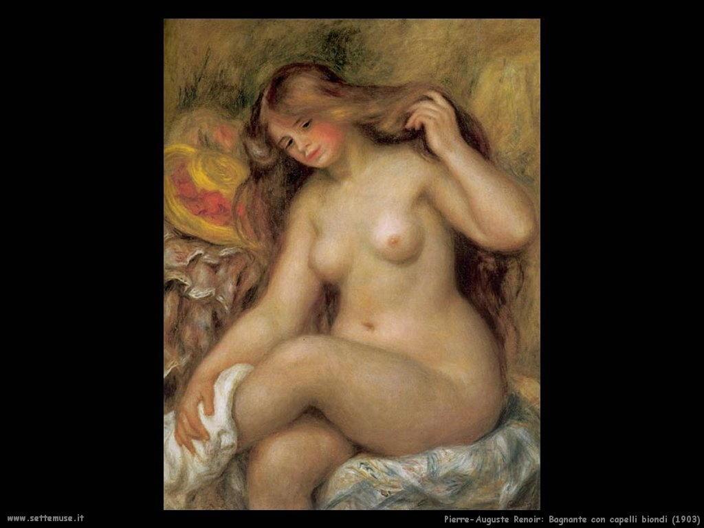 1903bagnante_con_capelli_biondi Pierre-Auguste Renoir