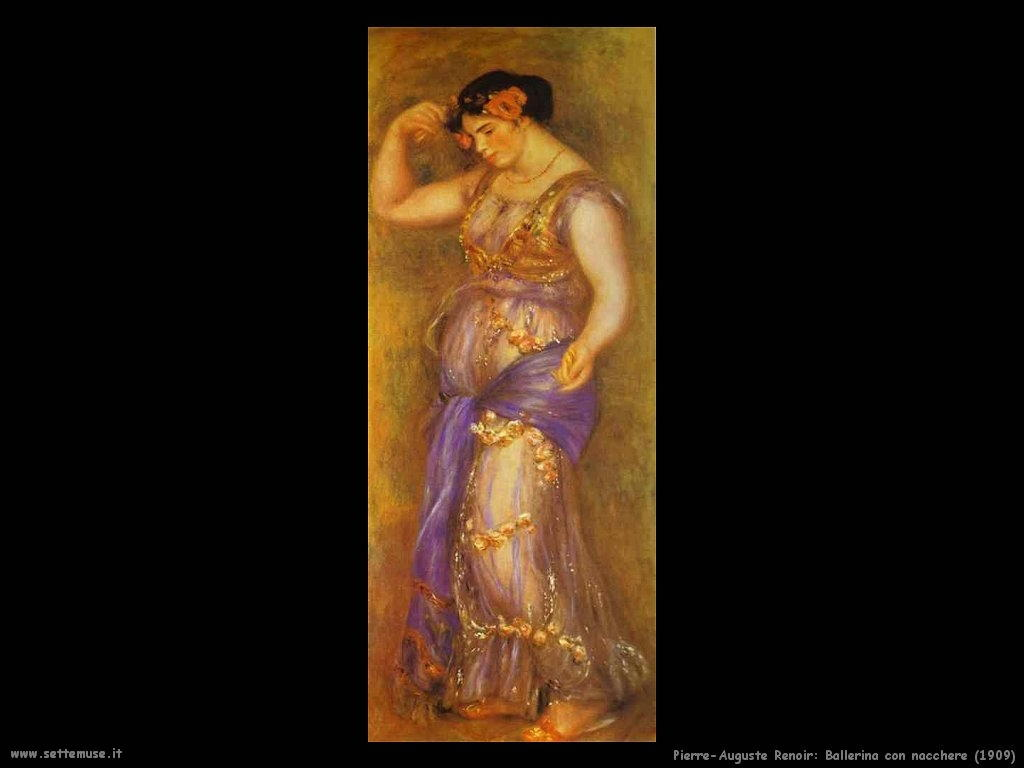 Pierre-Auguste Renoir ballerina_con_nacchere