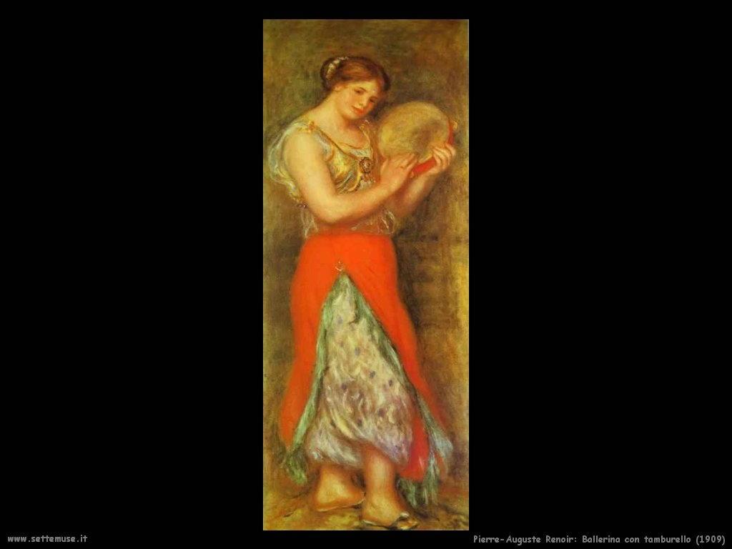 Pierre-Auguste Renoir_ballerina_con_tamburello