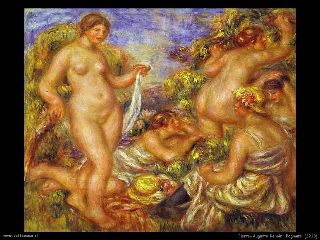 1918_bagnanti Pierre-Auguste Renoir