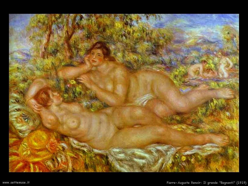 1919_il_grande_bagnanti Pierre-Auguste Renoir