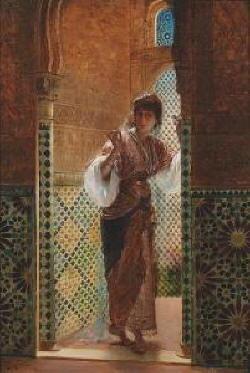 Dipinto di Edouard Richter
