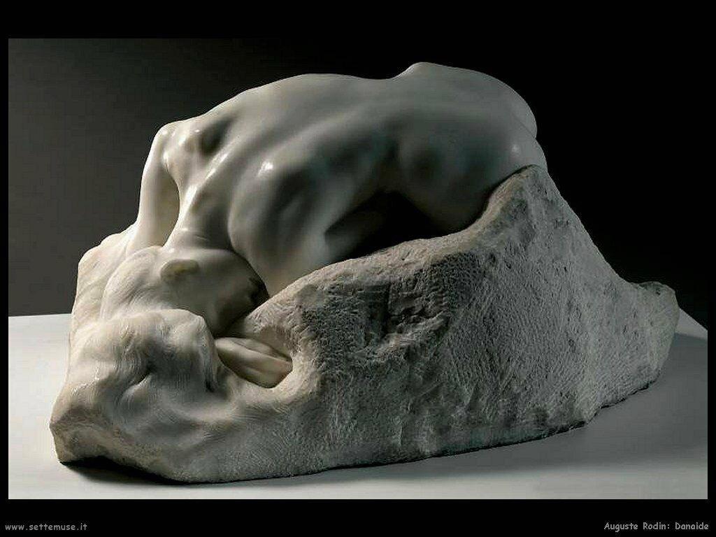Auguste Rodin danaide
