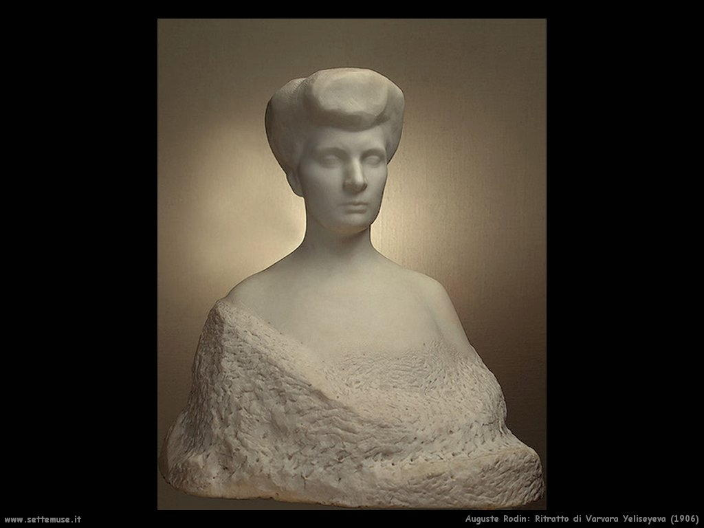 Auguste Rodin_ritratto_di_Varvara_Yeliseyeva_1906