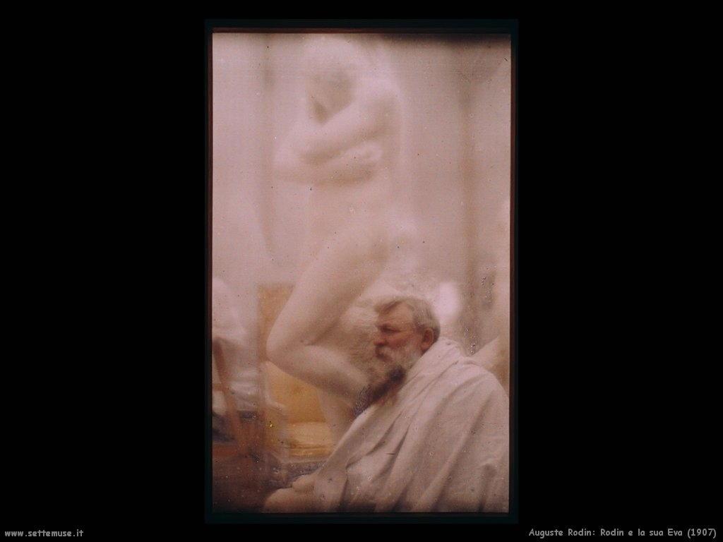 Auguste Rodin_Rodin_e_la_sua_eva_1907