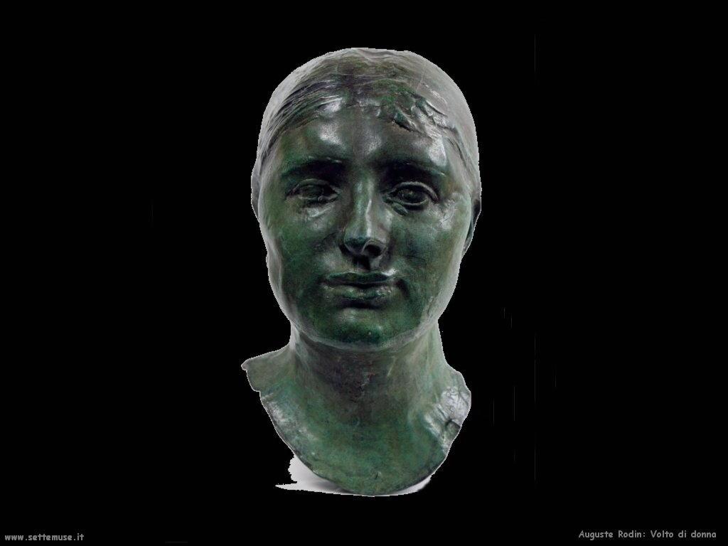 Auguste Rodin_volto_di_donna
