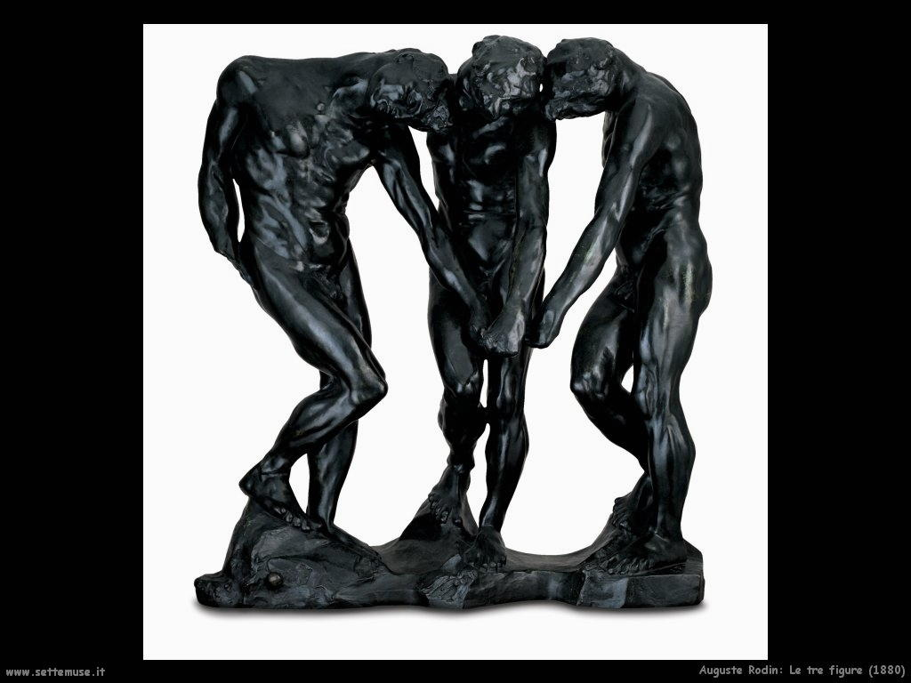 Auguste Rodin_le_tre_figure_1880