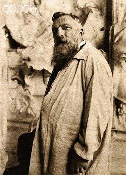 Foto di Auguste Rodin