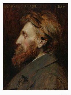 Dipinto di Auguste Rodin